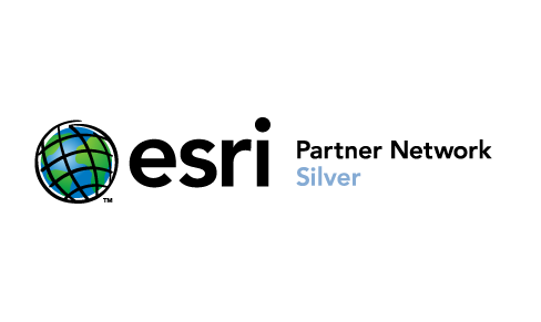 logo esri silver