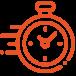 reloj clock vector