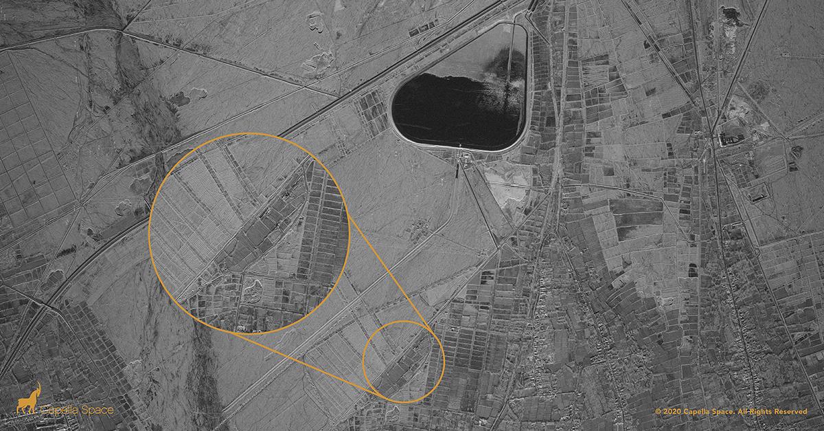 capella space imagen satelital